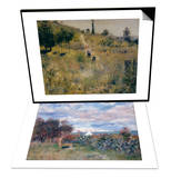 Chemin Montant dans les Hautes Herbes  c1876 & La Baie d'Alger  1881 Set