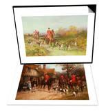 Hunting Scene & The Meet  Ye Olde Wayside Inn Set