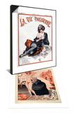 La Vie Parisienne  C Herouard  1923  France & 1920s France La Vie Parisienne Magazine Plate Set
