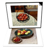 The Basket of Fruit & Still-life with Apples Set