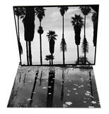 Palm Trees in Silhouette  California  1958 & Leaves in Pond  1956 Set