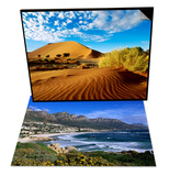 Sand Dunes in Namib Desert Park & Beach at Camps Bay  Cape Town  South Africa Set
