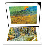 Rising Moon & Roadman by Van Gogh Set