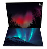 Curtains of Northern Lights  Alaska & Aurora Borealis  Gates of Arctic Nat'l Park  Alaska Set
