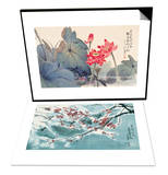 Fragrant Lotus & Plum Blossom in Snow Set