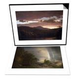 Twilight (Catskill Mountain) & The Aegean Sea Set