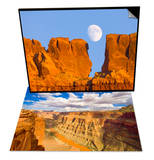 Sandstone Buttes and Moon & Grand Canyon and Colorado River Set