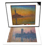 Venice by Twilight  1908 & The Houses of Parliament  Sunset  1903 Set