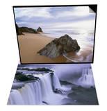 Beach at Mimosa Rocks National Park in Australia & Iguazu Falls Set