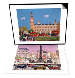 Big Ben and Parliament Square & Trafalgar Square Set