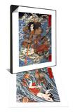 Shimamura Danjo Takanori Riding Waves on Large Crabs & Tamatori Being Pursued by Dragon Set