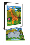 Gerry the Giraffe & Nellie the Elephant Set