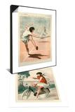 1920s France La Vie Parisienne Magazine Plate & 1920s France La Vie Parisienne Magazine Plate Set