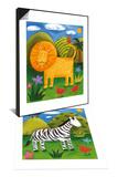 Leo the Lion & Zara the Zebra Set