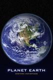 Planet Earth Western Hemisphere