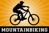Mountain Biking Orange Sports
