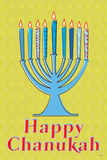 Happy Chanukah (Menorah)