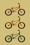 BMX Bikes Pop Art Sports