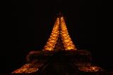 Paris France Eiffel Tower at Night Photo