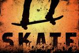 Skateboarding Skate Orange Sports