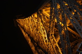 Paris France Eiffel Tower at Night 2 Photo
