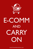 Ecom and Carry On Humor Poster