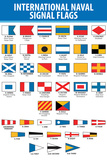 Naval Signal Flags Transportation