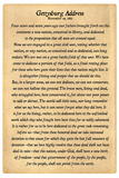 Gettysburg Address Full Text