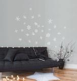 Snowflakes - White