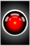 Hal 9000 Camera Eye Screen Movie