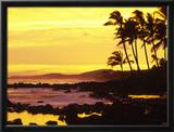 Sunset  Poipu  Kauai  Hawaii  USA