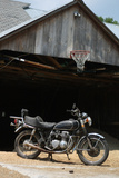 Vintage Motorcycle 2 Photo Art Print Poster