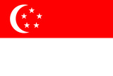 Singapore National Flag Poster Print