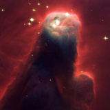 MONSTROUS STAR-FORMING PILLAR OF GAS AND DUST Poster