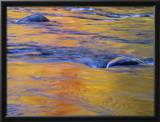 Autumn Reflections on Little White River  Elliot Lake  Ontario  Canada
