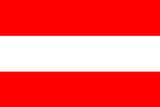 Austria National Flag Poster Print