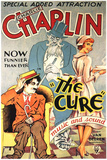 The Cure Movie Charlie Chaplin Poster Print