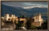 Alhambra With Serra Nevada