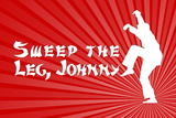Karate Kid Movie Sweep the Leg Johnny Poster Print