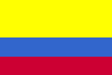 Colombia National Flag Poster Print