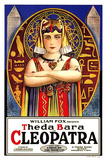 Cleopatra Movie Theda Bara Poster Print