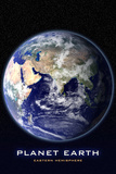 Planet Earth From Space Eastern Hemisphere Photo Poster