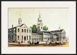 Independence Hall  Philadelphia  1776  Published by Nathaniel Currier and James Merritt Ives