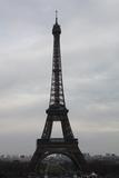 Eiffel Tower Paris Skyline Photo Art Poster Print