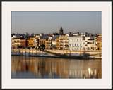 Bank of the Guadalquivir River  Seville  Andalucia  Spain  Europe