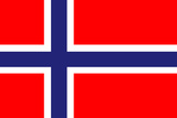 Norway National Flag Poster Print