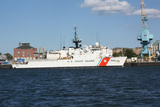 US Coast Guard Ship Photo Art Print Poster