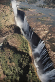 Zimbabwe  Aerial View of Victoria Falls