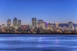 Canada  Quebec  Montreal  Skyline and St Lawrence River