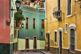 Mexico  Guanajuato Street Scene